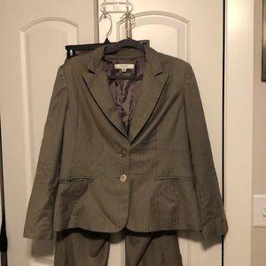 Pinstripe Nine West Suit size 16